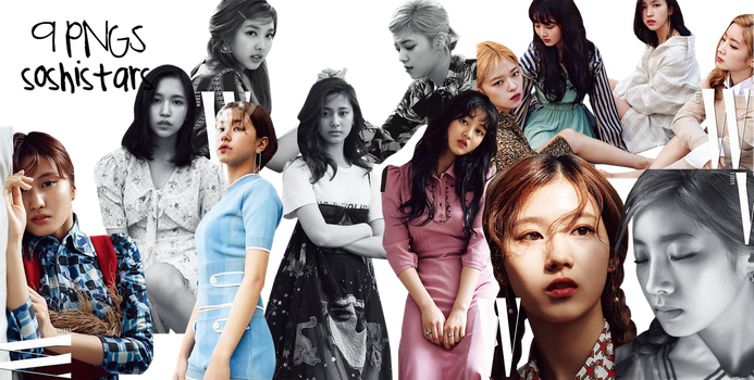TWICE PNG Pack {W Korea} HD by soshistars