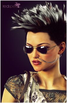Redspec TGX Hair Female Promo 1 by TRRazor
