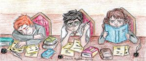 Studying by lauu7