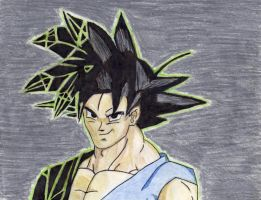 Matrix Goku by Stephr0x0rs