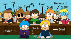 Kindergarten ~Eddsworld~ by AwkwardClumsy on DeviantArt