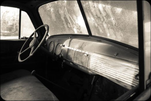 Old Chevy Interior by Oocatt