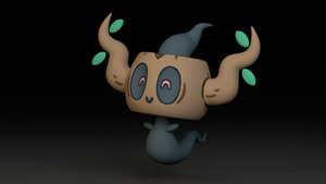 #708. Phantump by TheAdorableOshawott