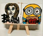 Magnets: Buffy and Minion by wolf-girl87