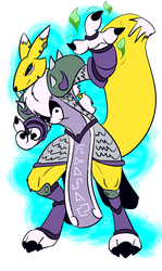 [2WOH] Renamon Roleplay by kompy
