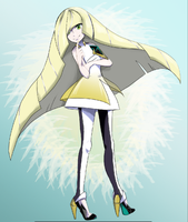 Pokemon: Beauty Lusamine by aethertastic