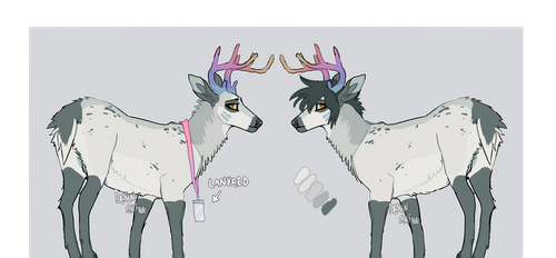 emo deer adopt [auction CLOSED] by SailorMoonFan666