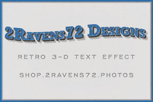Retro Text Tutorial Project by kwhammes