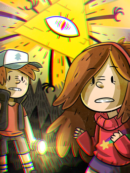Gravity Falls by ZeTrystan