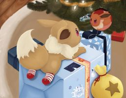 Eevee's First Christmas
