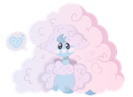 Mega Altaria by HiddenTabby
