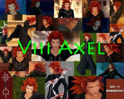 Axel Wallpaper by AxelPsycho835