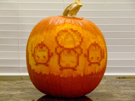 Stardew Valley Pumpkin 3 by ceemdee