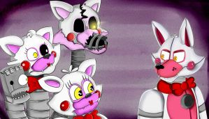 Funtime Foxy is here!! by Aggablaze
