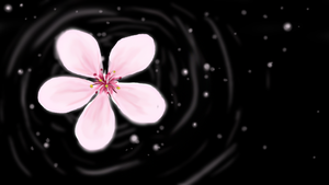 Cherry Blossom in a Void by Shinteki