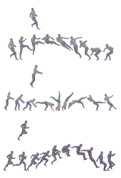 Sketchdump: Movement Studies by coupleofkooks