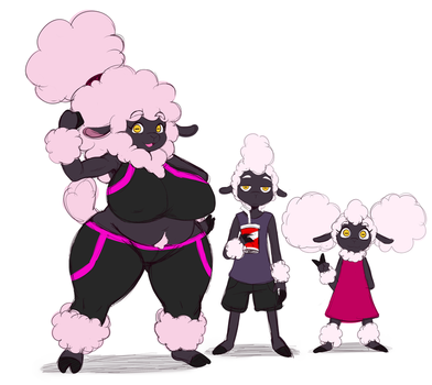 Sheep Fam by ss2sonic