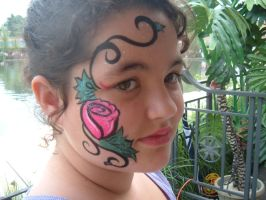 Face Paint- Rose by Jshibby
