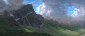 Misty Mountains by Mandilor
