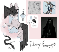 Moodboard Pony Adopt [CLOSED] (Halloween Witch) by JellyBeanBullet
