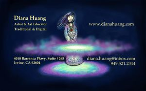 The Magicians Business Card by Diana-Huang