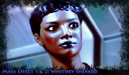 Mass Effect: Whitney Shepard by BlaqueEssence