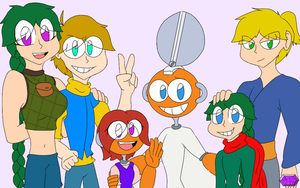(REQUEST) CutMan's Family by MicheleTheChaosCat