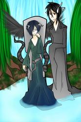 Prize ~ Faerie Ciel and Sebastian by AquariusBatt