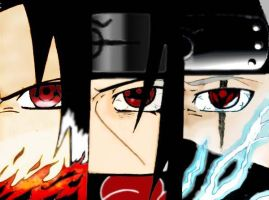 Team Sharingan Colored by KaozCore