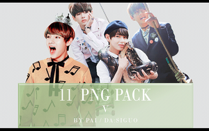 BTS V PNG PACK #11 by Pai by Siguo