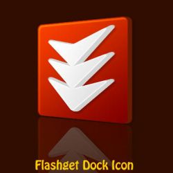 Flashget dock icon by MohsinNaqi