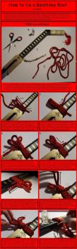 How to Tie a Benihime Knot by chioky