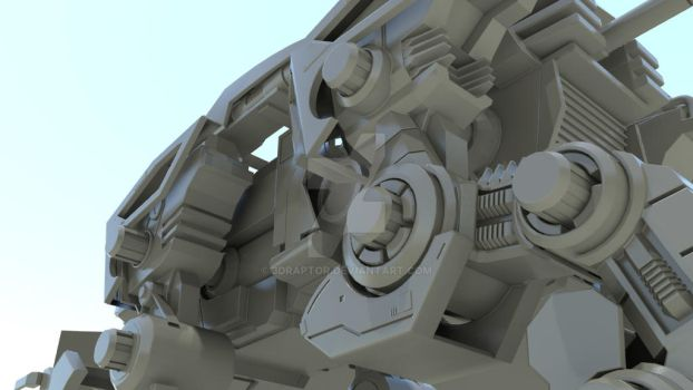 Project Liger Zero 2011 - 01 by 3DRaptor