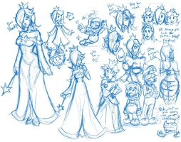 [Doodles] Rosalina by hooksnfangs
