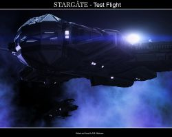 Stargate - Test Flight by Mallacore