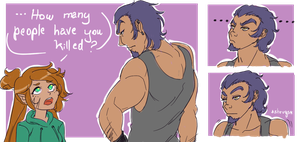 What do you mean shrugs? by Atey