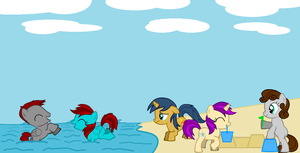 At the Seaside by Imp344