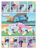 FiM: TNtMD - Page 06: Now THIS is a train by ArofaTamahn