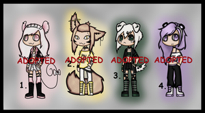 Harmless Adopts (CLOSED) by Adopt-From-Frog