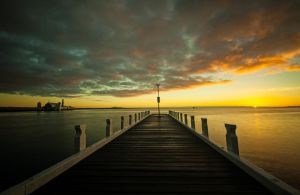 Geelong Waterfront Sunrise by daniellepowell82