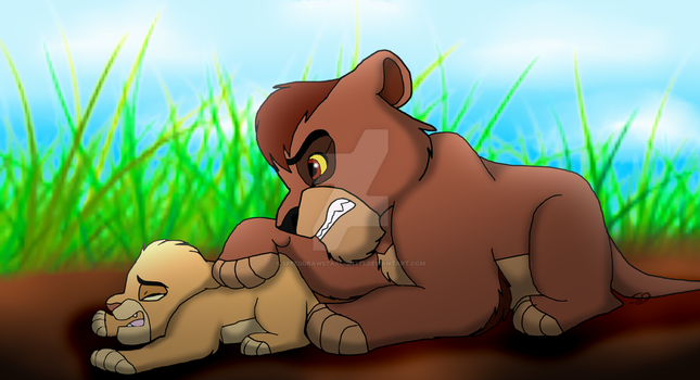 The Lion King A New Tale Of Two Brothers - Fanart by SpeedDrawStarlight13