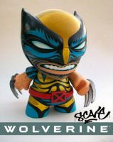 Custom Wolverine Munny by scavenjer