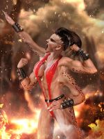 Mortal Kombat: Sheeva by Dragon-Kiss