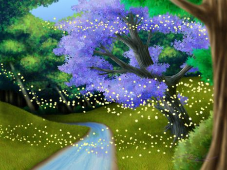 Butterfly Glade by Aerones