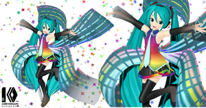 [MMD] Animasa 10th Anniversary Miku DOWNLOAD by ROKI-P