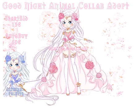 Collab Adopt Auction - Rose Butterfly by Reminel