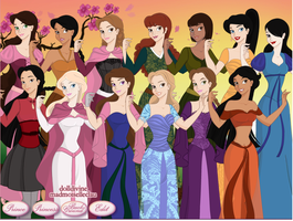 New Line Up by Princess-Rosella