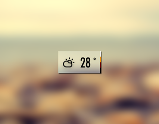 Custom Weather Icon (using Climacons) by rjd2k3