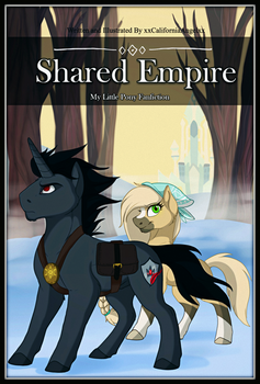 MLP Comic cover - Shared Empire NEW by xxCaliforniaAngelxx