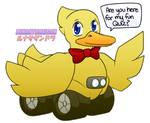 15$ Commission - Ducky by LunaHydreigon